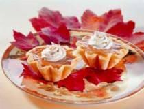 Harvest Pumpkin Tarts | DianasDesserts.com