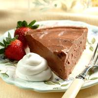 Easy chocolate cheesecake pie recipe