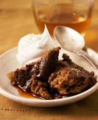 Mom's Persimmon Pudding Cake   DianasDesserts.com