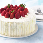 New Strawberry Birthday Cakes