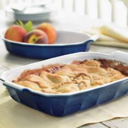 Cooks.com - Recipe - Old Fashioned Peach Cobbler