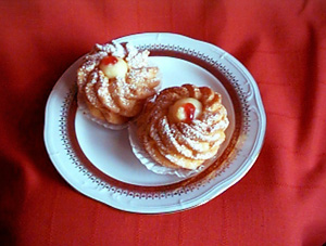 St. Joseph's Day Cream Puffs (Zeppole) | DianasDesserts.com