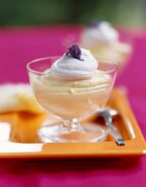 Meyer Lemon Mousse | DianasDesserts.com